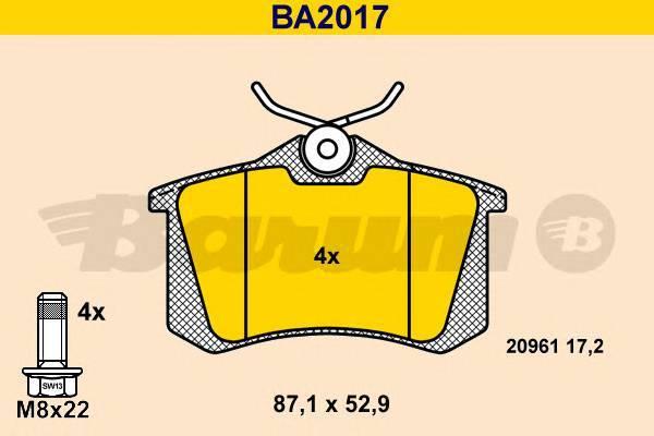 BARUM BA2017