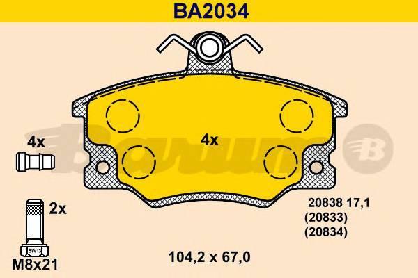 BARUM BA2034