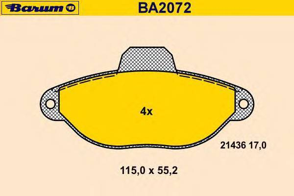 BARUM BA2072
