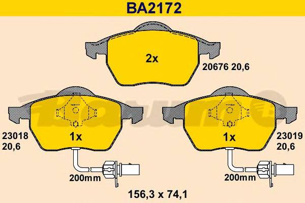 BARUM BA2172