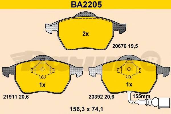 BARUM BA2205