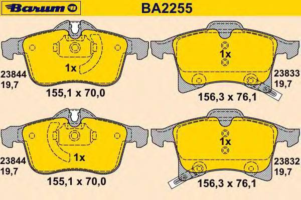 BARUM BA2255