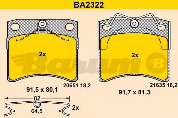 BARUM BA2322