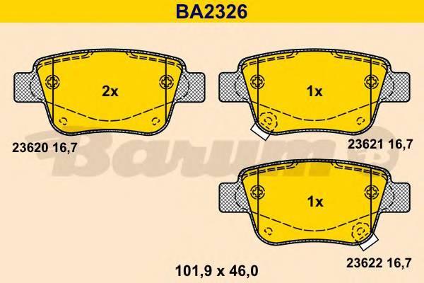 BARUM BA2326
