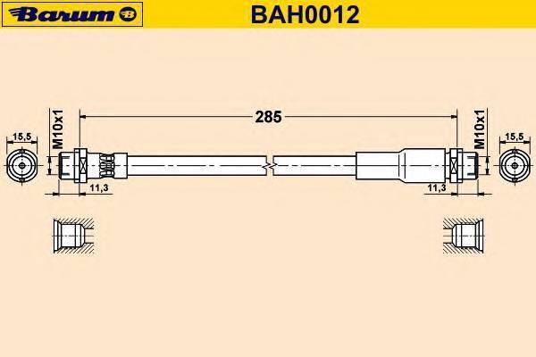 BARUM BAH0012