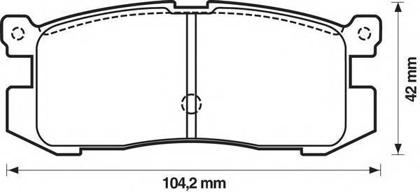 BENDIX 572169B