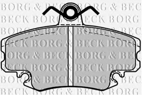 BORG & BECK BBP1386