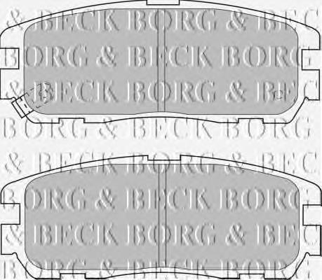 BORG & BECK BBP1517