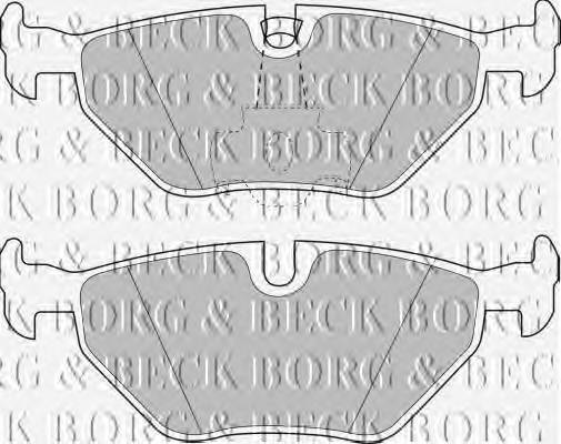 BORG & BECK BBP1591