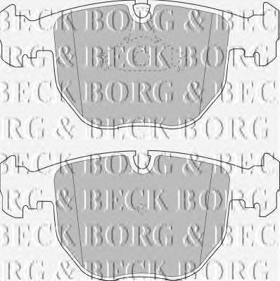BORG & BECK BBP1595