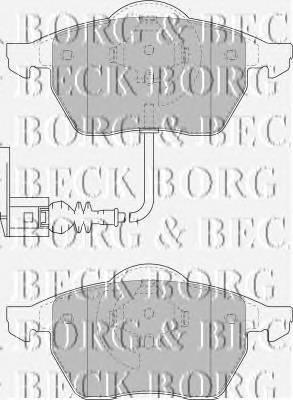 BORG & BECK BBP1734