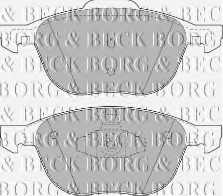 BORG & BECK BBP1864