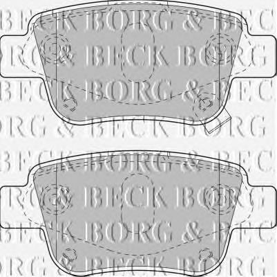 BORG & BECK BBP1880