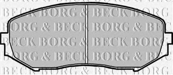 BORG & BECK BBP1957