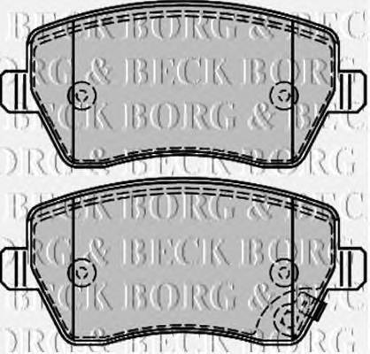 BORG & BECK BBP2166