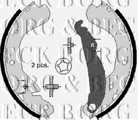 BORG & BECK BBS6104