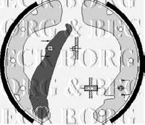 BORG & BECK BBS6222