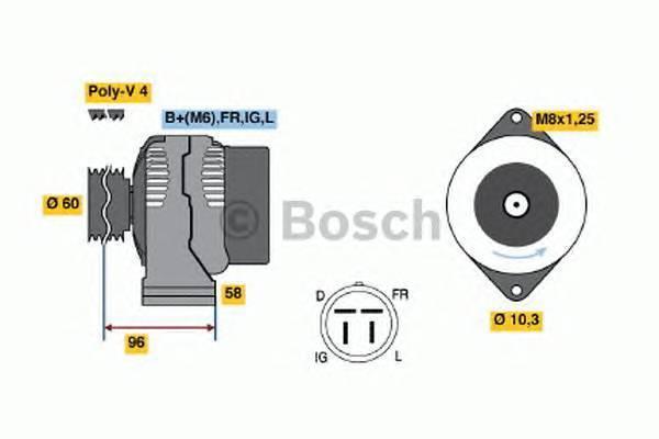 BOSCH 0123315020