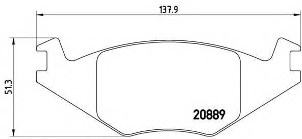 BREMBO P 85 019