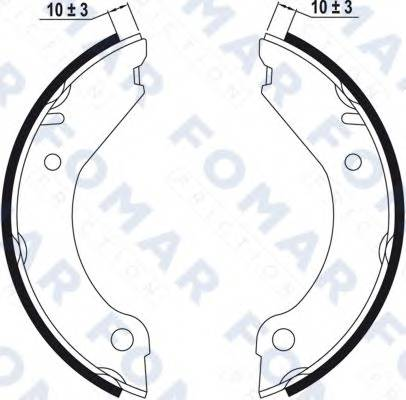 FOMAR FRICTION FO0314