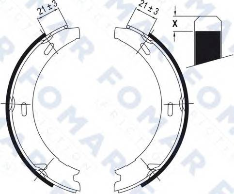 FOMAR FRICTION FO 0416