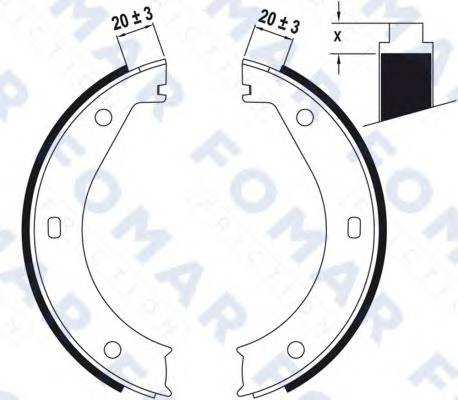 FOMAR FRICTION FO0423