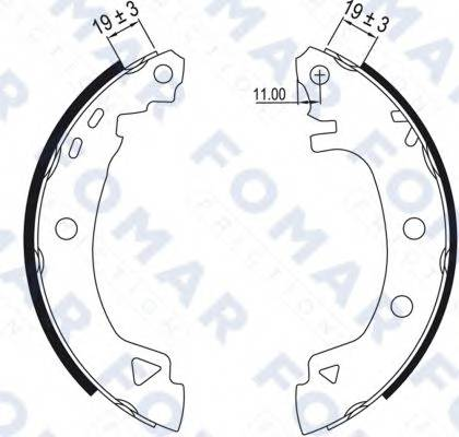 FOMAR FRICTION FO0425