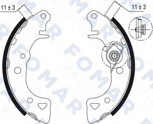 FOMAR FRICTION FO0429
