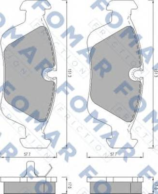 FOMAR FRICTION FO 472081