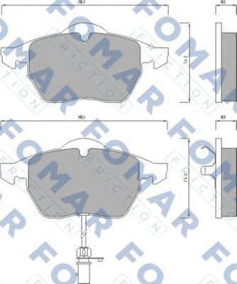 FOMAR FRICTION FO 668681
