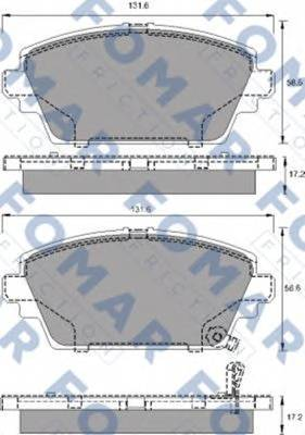 FOMAR FRICTION FO 690081