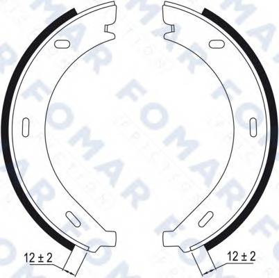 FOMAR FRICTION FO9010