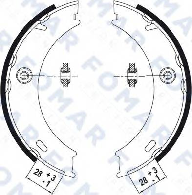 FOMAR FRICTION FO9022