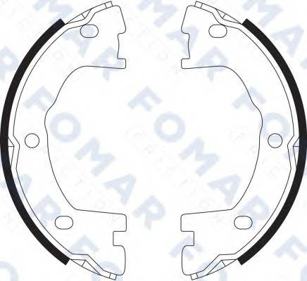 FOMAR FRICTION FO9063