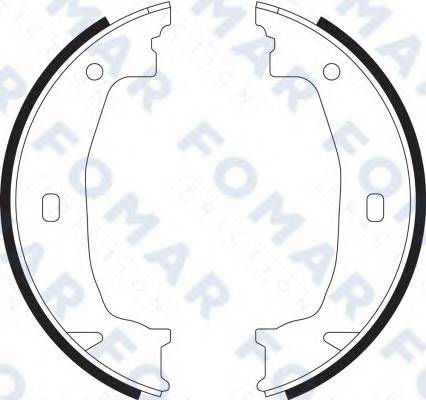 FOMAR FRICTION FO9070