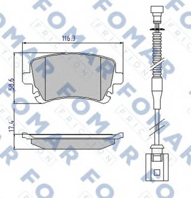 FOMAR FRICTION FO 913981