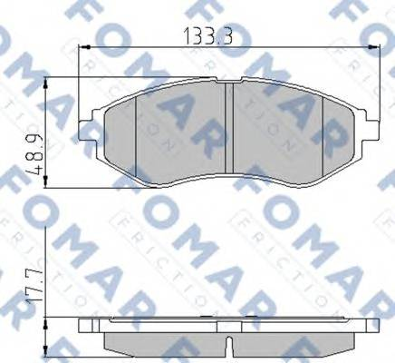 FOMAR FRICTION FO 923181