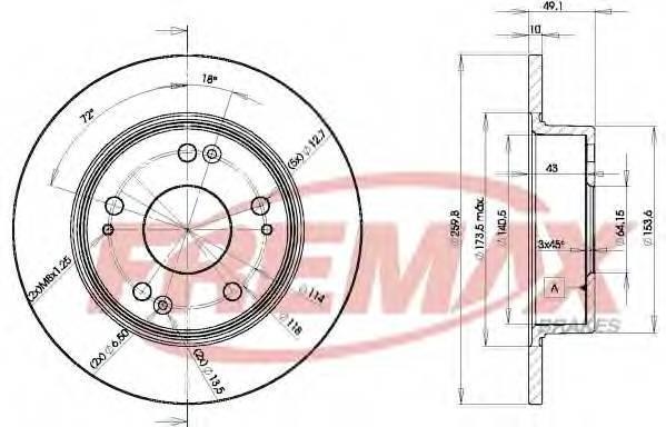 FREMAX BD-5252