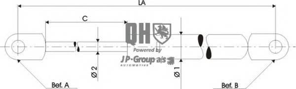 JP GROUP 4381202509