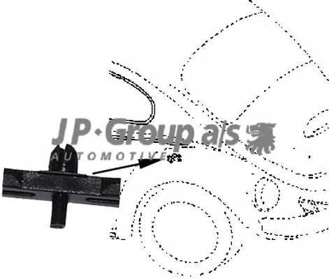 JP GROUP 8186550406