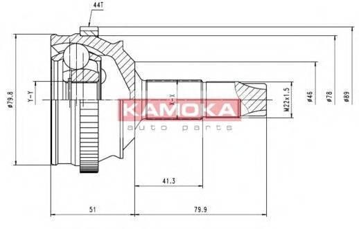 KAMOKA 6336