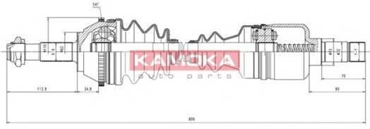 KAMOKA CT1138915A