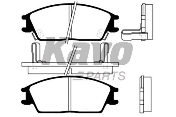 KAVO PARTS BP-3004