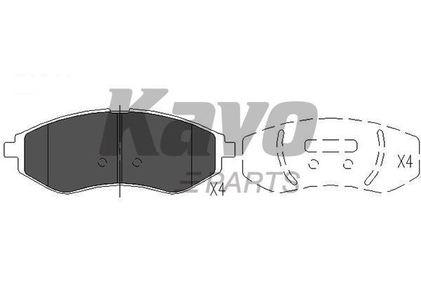 KAVO PARTS KBP-1003
