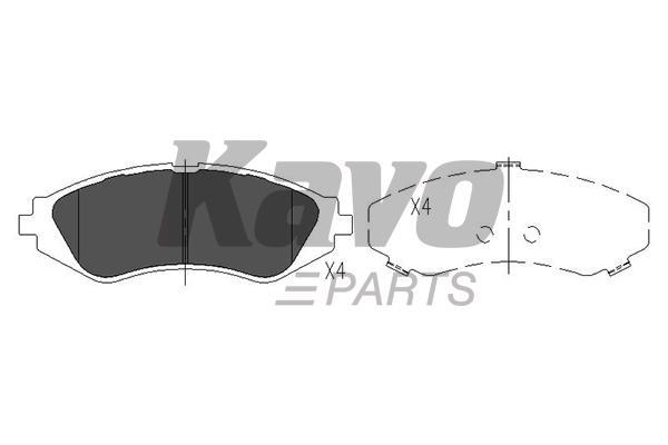 KAVO PARTS KBP-1008