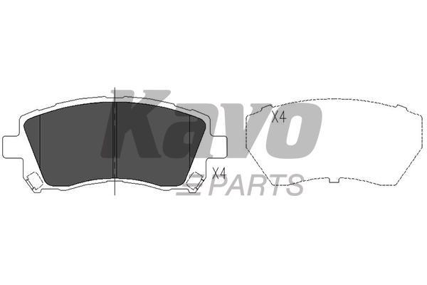 KAVO PARTS KBP-8001