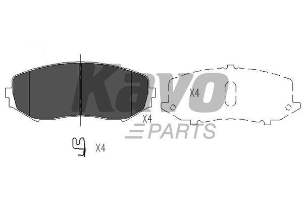 KAVO PARTS KBP-8512