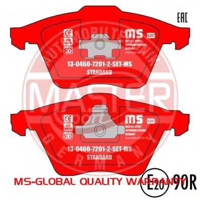 MASTER-SPORT 13046072012N-SET-MS