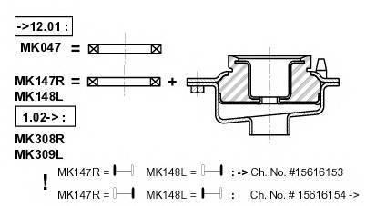 MONROE MK147R