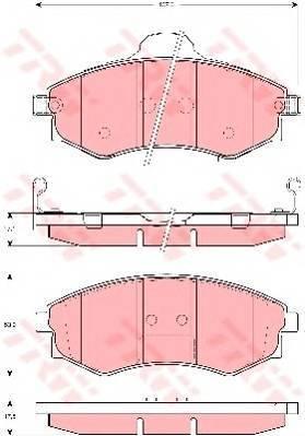 TRW GDB3256
